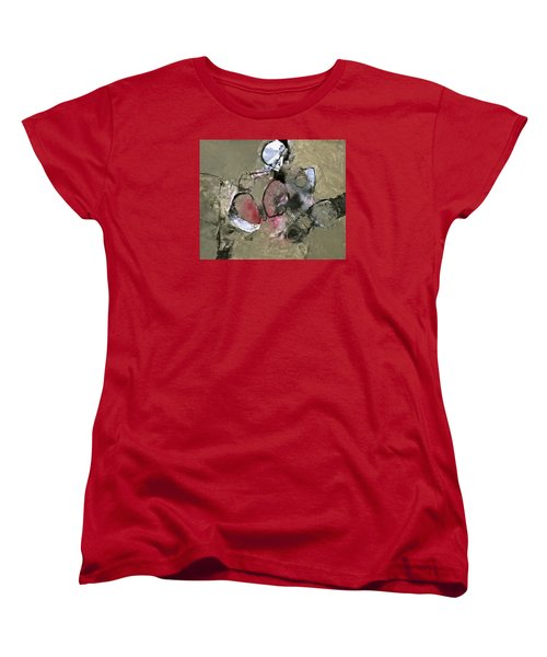 Women's T-Shirt (Standard Cut) featuring the painting Welterweight  by Cliff Spohn