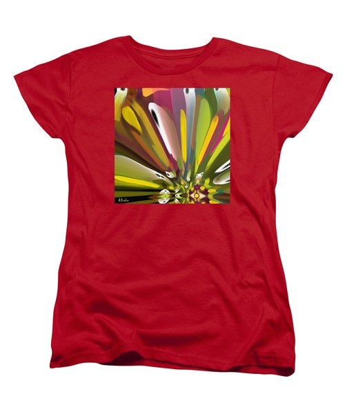 When Spring Turns To Fall Women's T-Shirt (Standard Cut) by Alec Drake