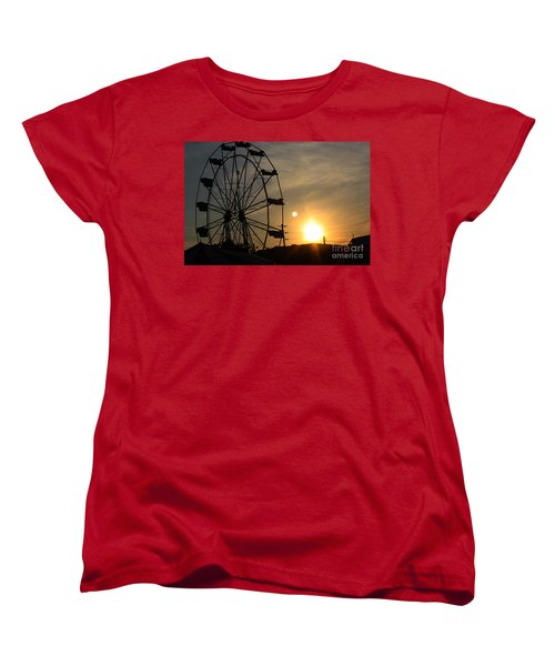 Women's T-Shirt (Standard Cut) featuring the photograph Where Has Summer Gone by Tony Cooper