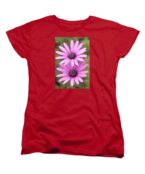 You And Me  Women's T-Shirt (Standard Cut) by Amy Gallagher