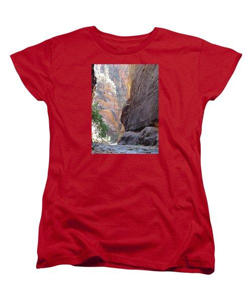 Zion Awe Women's T-Shirt (Standard Cut) by Elizabeth Sullivan
