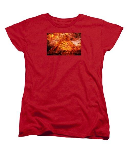 Kukulcan Pyramid Women's T-Shirt (Standard Cut)