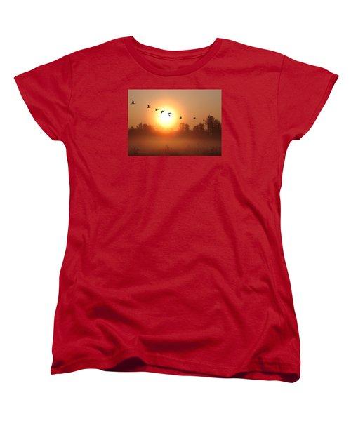 Returning South Women's T-Shirt (Standard Cut) by I\'ina Van Lawick