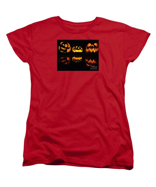 Women's T-Shirt (Standard Cut) featuring the photograph  Texas Halloween - No. 2015 by Joe Finney