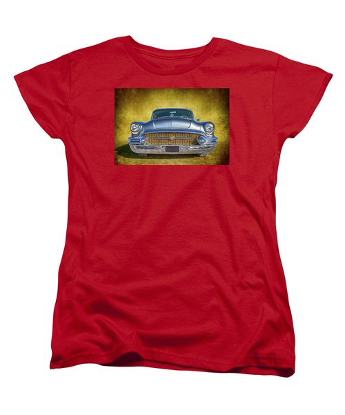 1955 Buick Women's T-Shirt (Standard Cut) by Keith Hawley