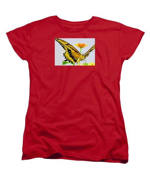 Afternoon Sip Women's T-Shirt (Standard Cut) by Charlotte Schafer