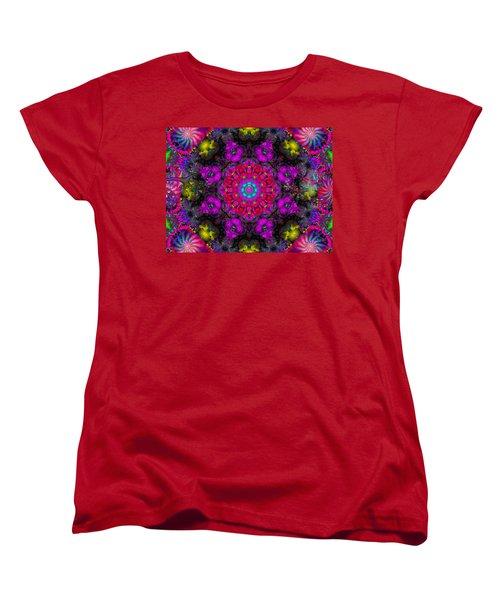 Women's T-Shirt (Standard Cut) featuring the digital art April Rain by Robert Orinski