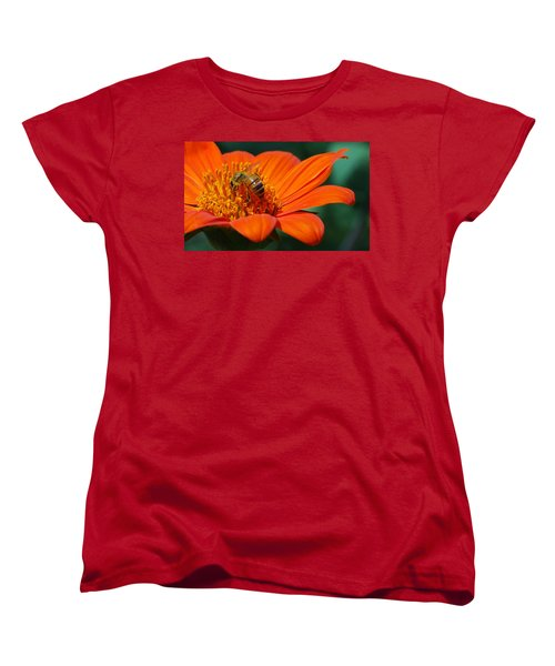 Bee-utiful Women's T-Shirt (Standard Cut) by Debbie Karnes