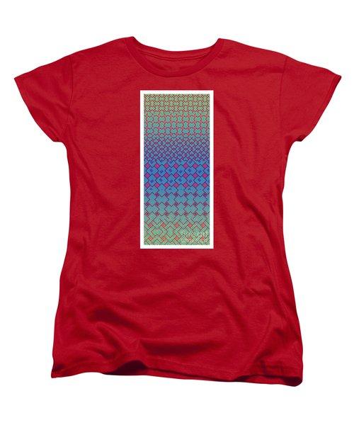 Bibi Khanum Ds Patterns No.3 Women's T-Shirt (Standard Cut)
