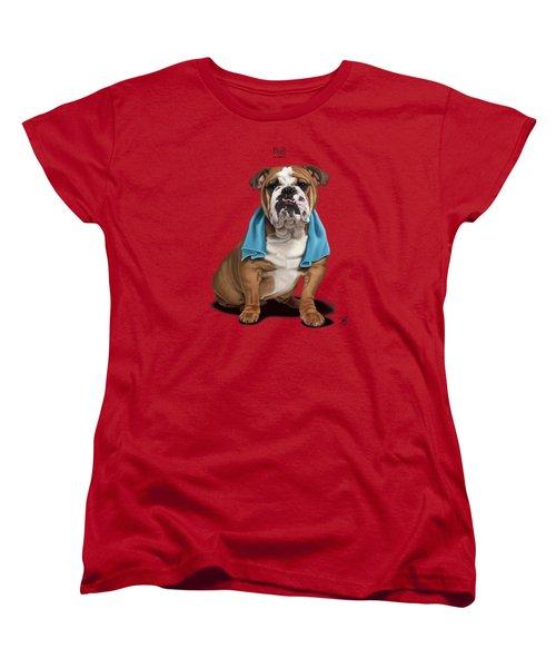 Bull Women's T-Shirt (Standard Cut) by Rob Snow