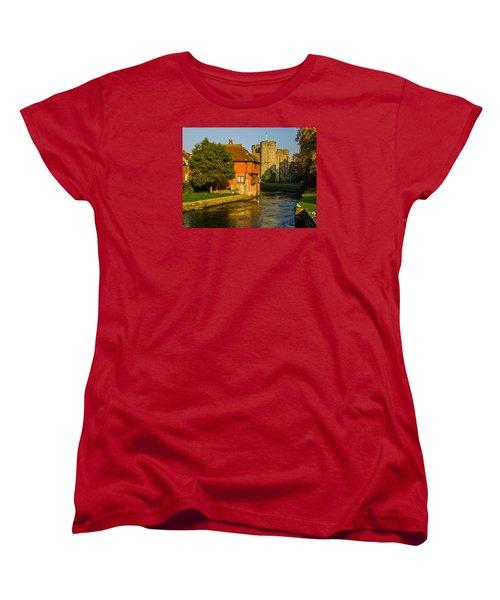 Canterbury Women's T-Shirt (Standard Cut) by Daniel Precht
