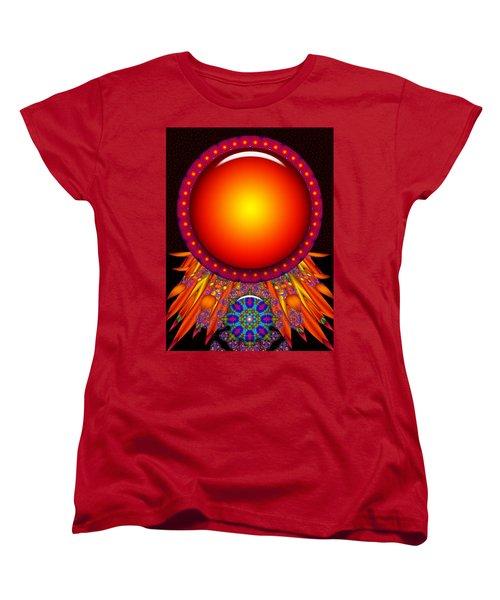 Women's T-Shirt (Standard Cut) featuring the digital art Children Of The Sun by Robert Orinski