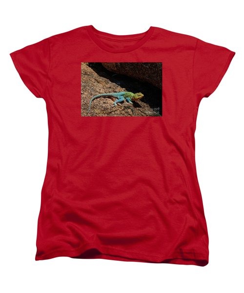 Colorful Lizard II Women's T-Shirt (Standard Cut)