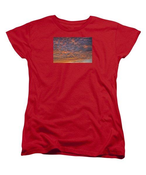 Colorful Women's T-Shirt (Standard Cut)
