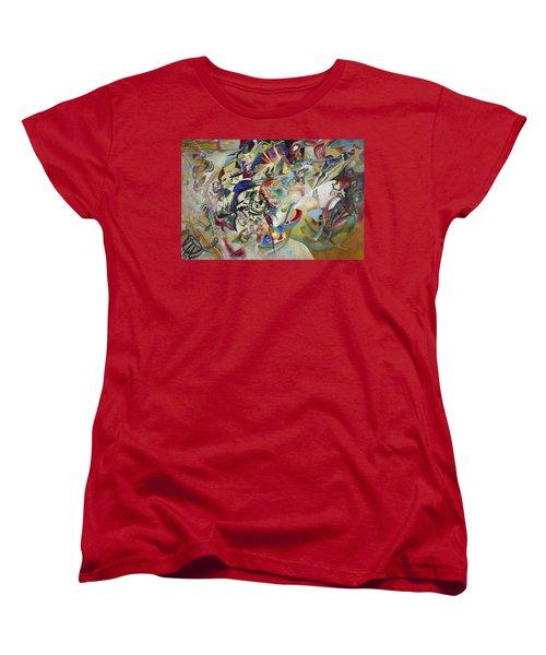 Composition Vii Women's T-Shirt (Standard Cut) by Wassily Kandinsky