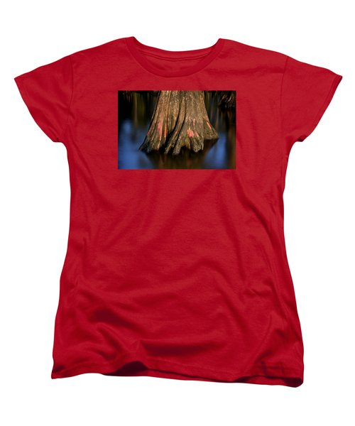 Women's T-Shirt (Standard Cut) featuring the photograph Cypress Tree by Evgeny Vasenev