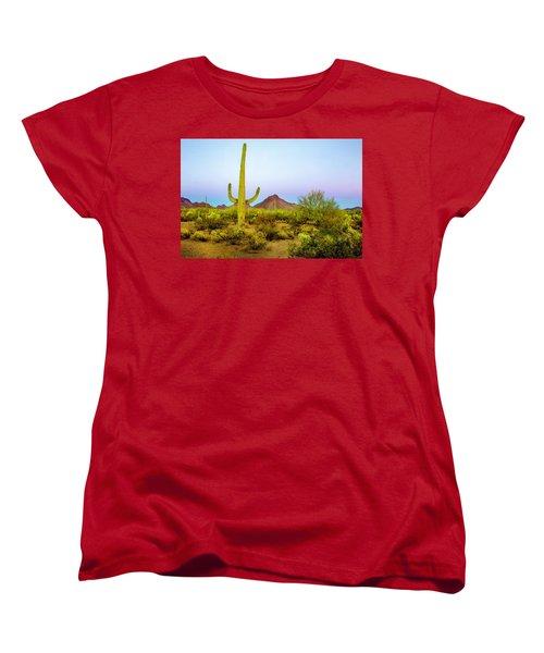 Desert Beauty Women's T-Shirt (Standard Cut) by Barbara Manis
