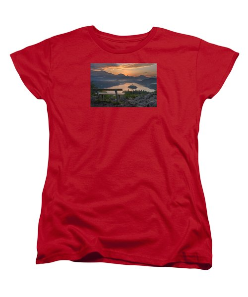 Early Morning Women's T-Shirt (Standard Cut) by Robert Krajnc