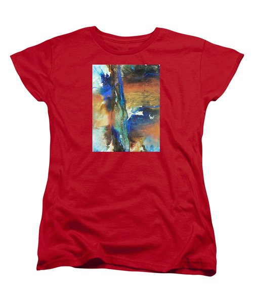 Electric And Warm Women's T-Shirt (Standard Cut) by Becky Chappell