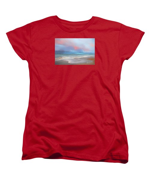 Women's T-Shirt (Standard Cut) featuring the photograph Emerald Isle North Carolina by Mim White