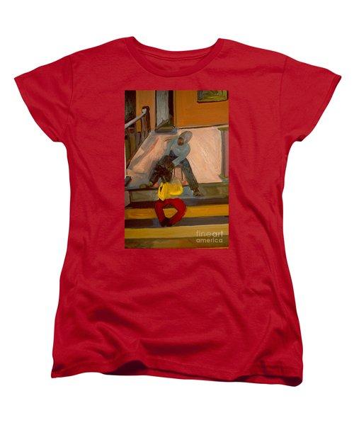 Gettin Braids Women's T-Shirt (Standard Cut) by Daun Soden-Greene