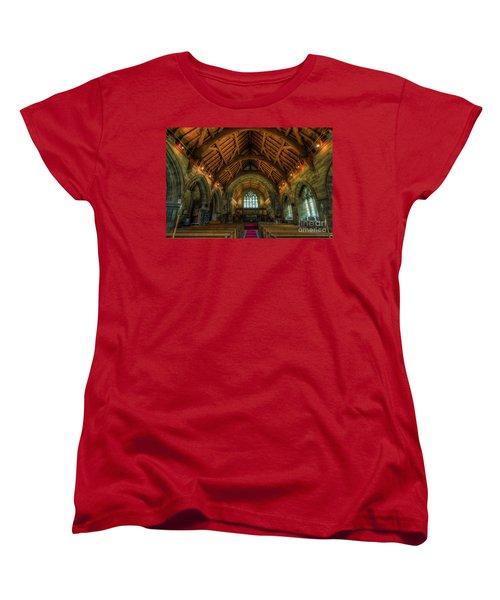 Gods Light Women's T-Shirt (Standard Cut) by Ian Mitchell