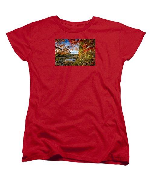 Women's T-Shirt (Standard Cut) featuring the photograph Grafton, New Hampshire by Robert Clifford