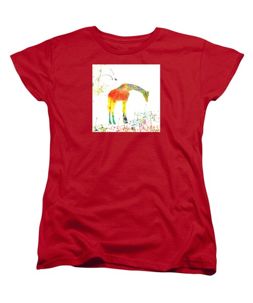 Women's T-Shirt (Standard Cut) featuring the digital art Hello by Trilby Cole