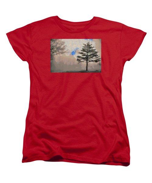 Hickory Women's T-Shirt (Standard Cut) by Trish Tritz