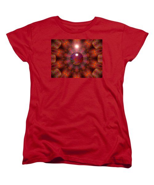 Women's T-Shirt (Standard Cut) featuring the digital art Hold On by Robert Orinski