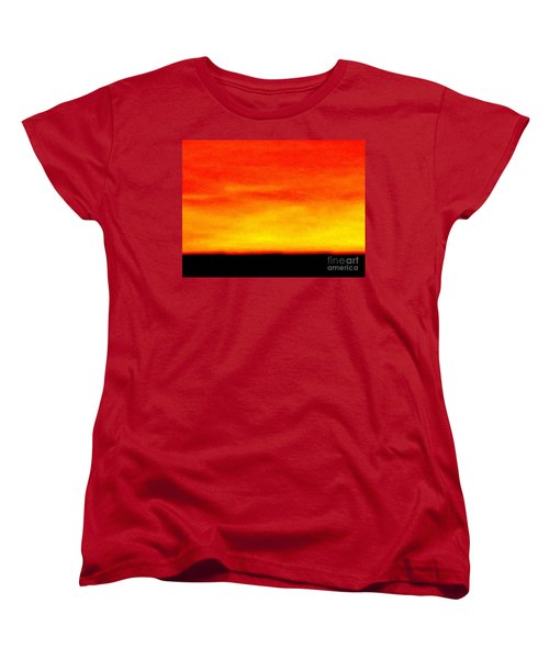 Horizon Women's T-Shirt (Standard Cut) by Tim Townsend