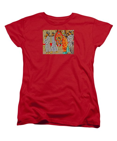 Jidai Matsuri Xxv Women's T-Shirt (Standard Cut) by Cassandra Buckley