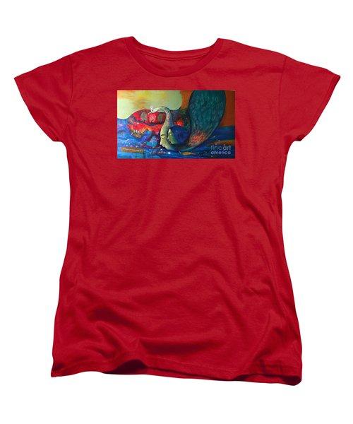 Life Women's T-Shirt (Standard Cut) by Sanjay Punekar