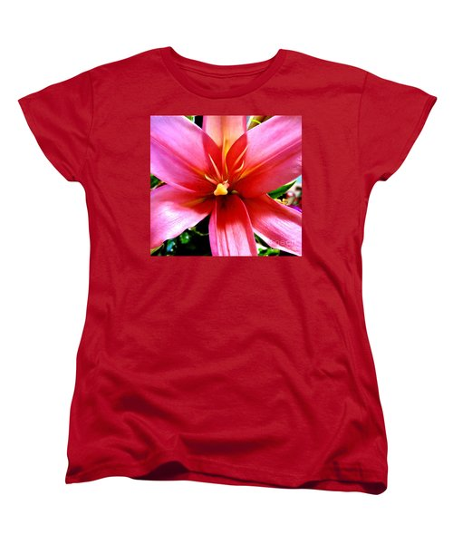 Lily Women's T-Shirt (Standard Cut) by Tim Townsend