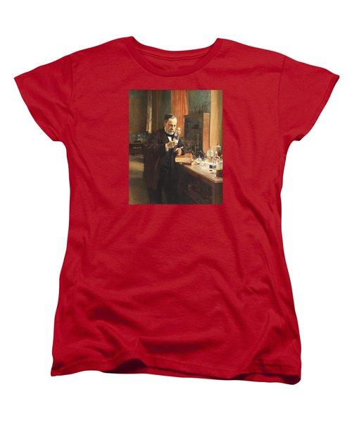 Louis Pasteur Women's T-Shirt (Standard Cut) by Albert Edelfelt