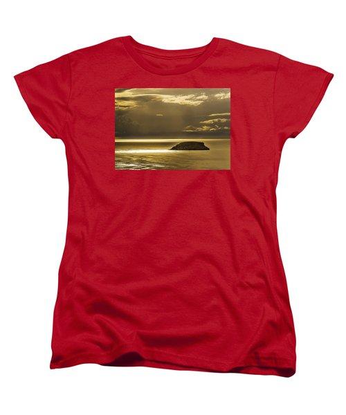 Moonscape Women's T-Shirt (Standard Cut) by Patrick Kain