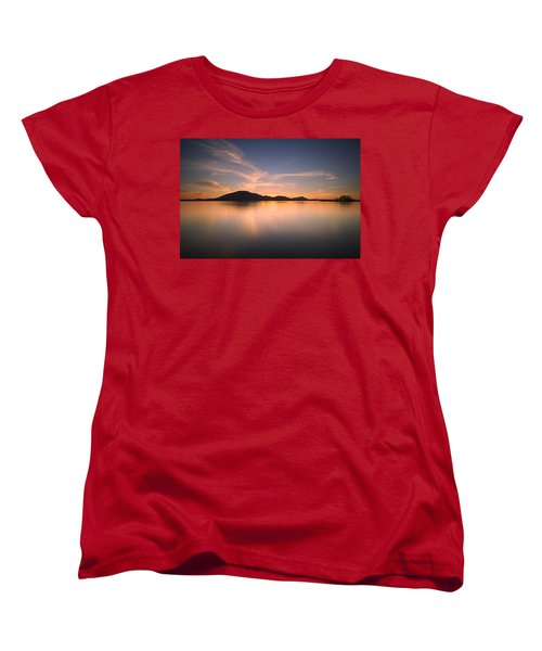 Mountain Sunset Women's T-Shirt (Standard Cut)
