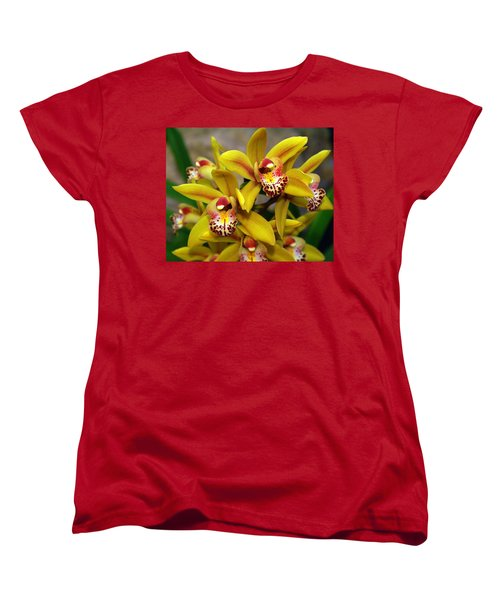 Orchid 9 Women's T-Shirt (Standard Cut) by Marty Koch