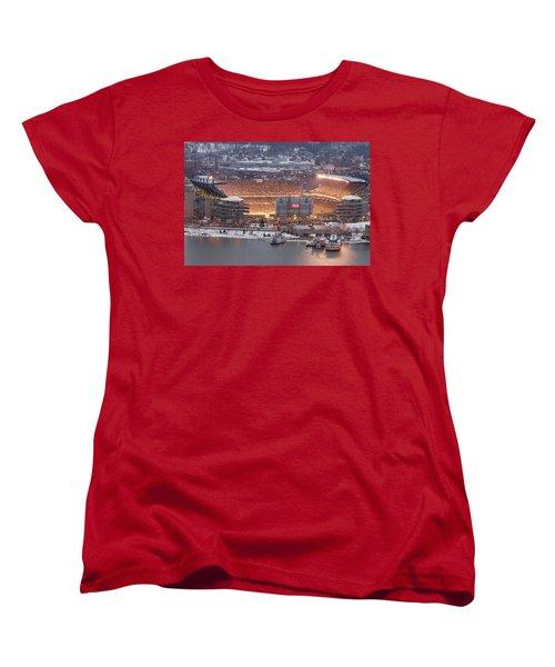 Pittsburgh 4 Women's T-Shirt (Standard Cut) by Emmanuel Panagiotakis