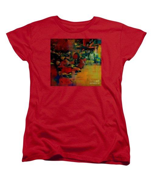 Ranoush Painted Women's T-Shirt (Standard Cut) by Kelly Awad