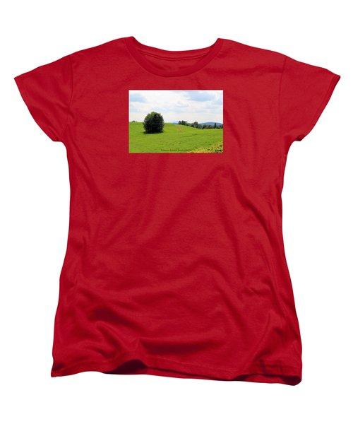 Rolling Hills Women's T-Shirt (Standard Cut)