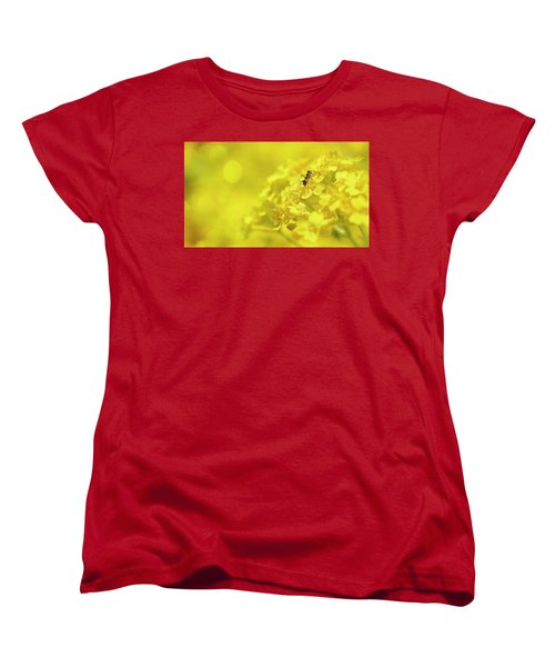Set The Controls For The Heart Of The Sun Women's T-Shirt (Standard Cut) by John Poon