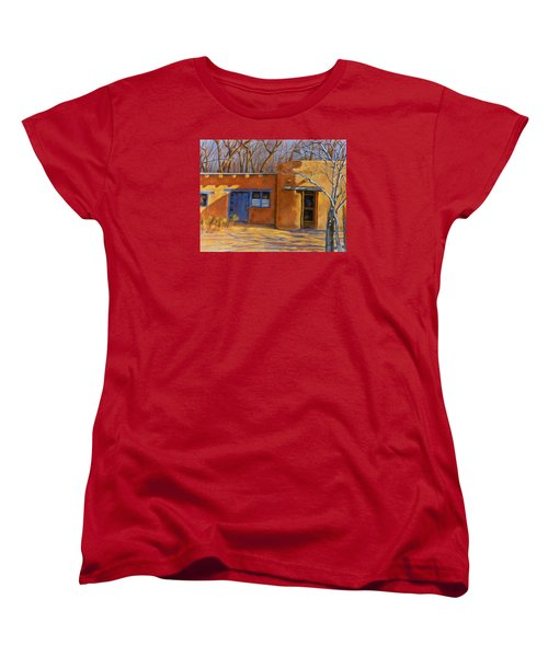 Women's T-Shirt (Standard Cut) featuring the painting Sol Y Sombre by Ann Peck