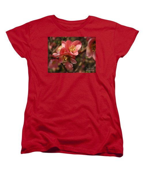 Spring Blooms Women's T-Shirt (Standard Cut) by Rebecca Overton