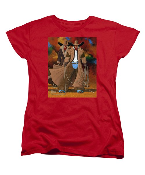 Stand By Your Man Women's T-Shirt (Standard Cut) by Lance Headlee
