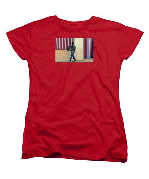 Women's T-Shirt (Standard Cut) featuring the photograph Stripes by Joe Jake Pratt