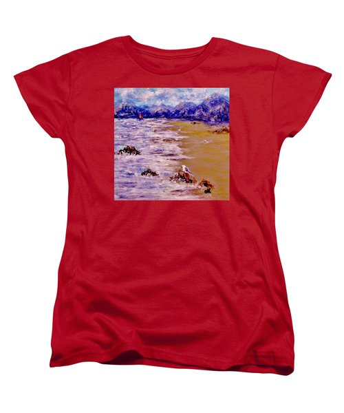 Summer Whispers.. Women's T-Shirt (Standard Cut) by Cristina Mihailescu