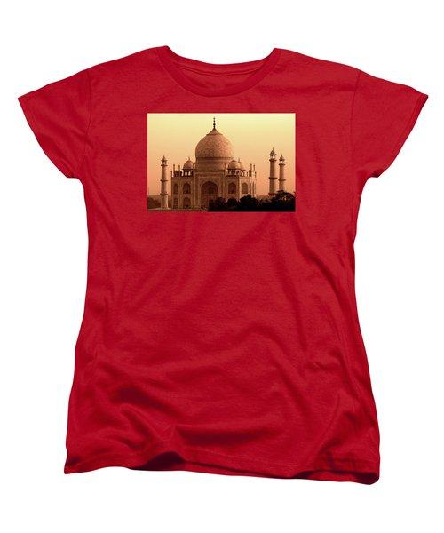 Taj Mahal Women's T-Shirt (Standard Cut) by Aidan Moran