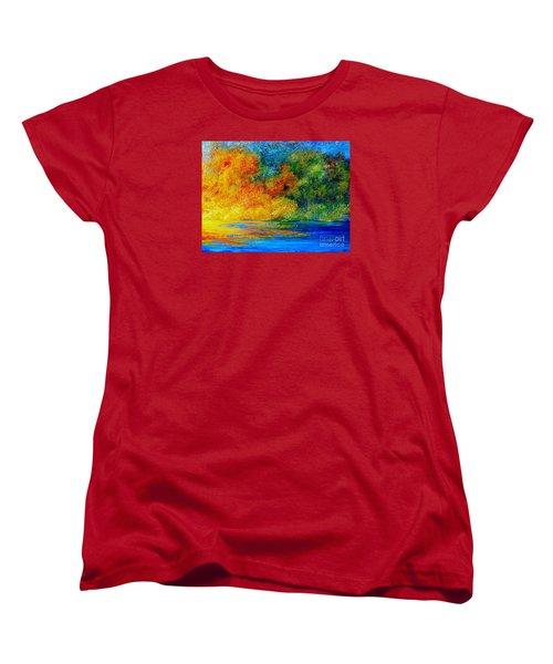 Memories Of Summer Women's T-Shirt (Standard Cut) by Teresa Wegrzyn