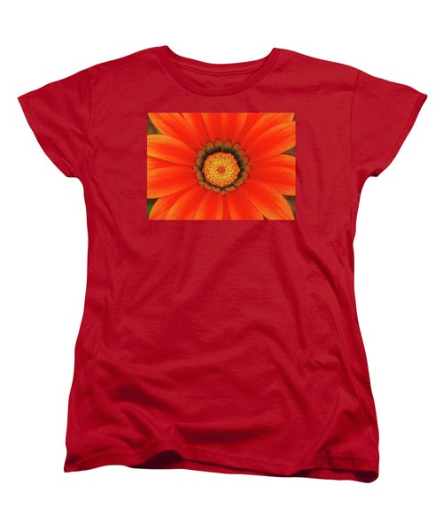 The Beauty Of Orange Women's T-Shirt (Standard Cut) by Lori Tambakis